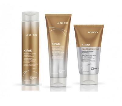 Joico Шампунь + Кондиционер + Маска - Восстанавливающий для поврежденных волос