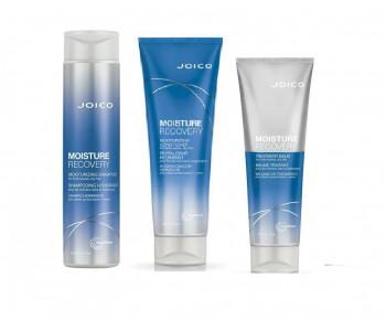 Шампунь + Кондиционер + Маска - Увлажняющий для плотных/жестких, сухих волос