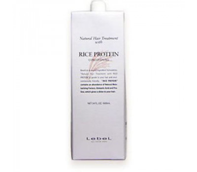 Lebel Кондиционирующая маска RICE PROTEIN (Рисовый протеин)