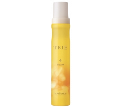 Lebel Пена для укладки волос Trie Foam 4