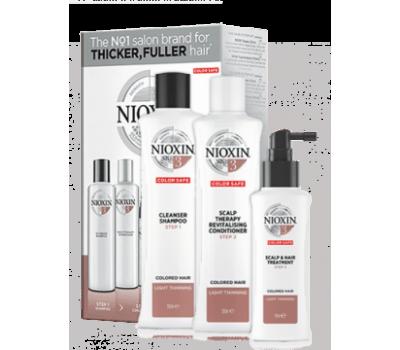 Nioxin Набор 3-x ступенчатой системы для окрашенных волос СИСТЕМА 3