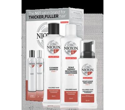 Nioxin Набор XXL 3-x ступенчатой системы для ухода за окрашенными волосами