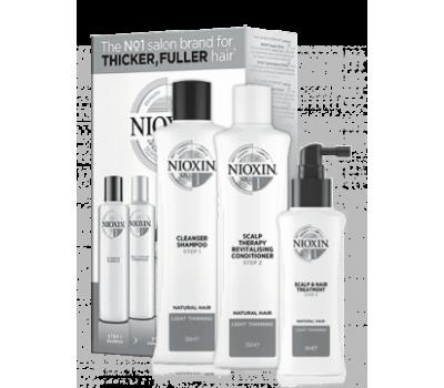 Nioxin Набор 3-x ступенчатой системы для истонченных волос