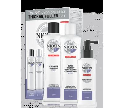 Nioxin Набор для обесцвеченных, химически завитых или выпрямленных волос