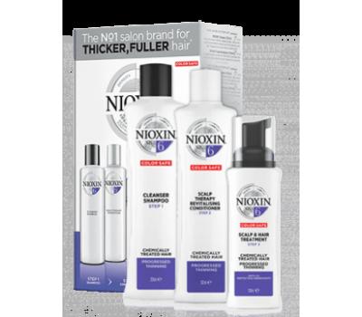 Nioxin Набор XXL - для химически обработанных волос, заметно редеющих