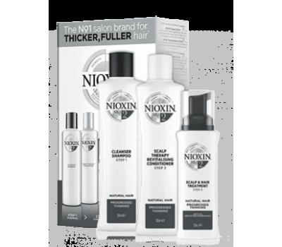Nioxin Набор 3-x ступенчатой системы для ухода за натуральными волосами