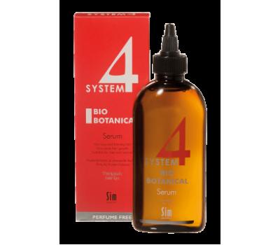 System4 Биоботаническая Сыворотка для роста волос 200мл