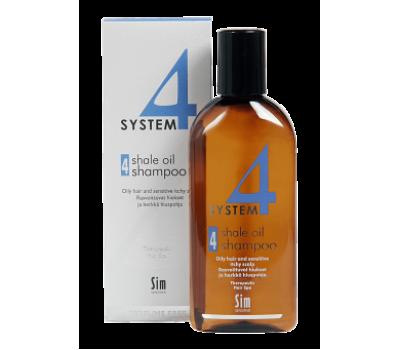 System4 Шампунь №4 для жирной и чувствительной кожи 100мл