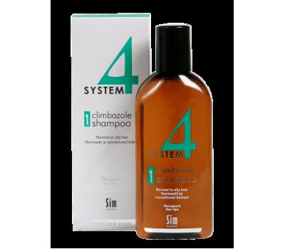 System4 Шампунь №1 для нормальной и жирной кожи, 215 мл
