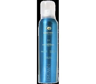 Greymy Сухой шампунь браун Volumizing Dry Refresh Shampoo - Brown