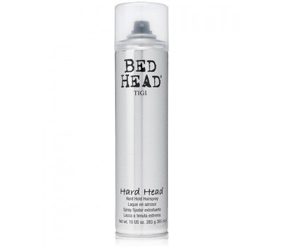 Bed Head (TIGI) Лак для суперсильной фиксации, Hard Head