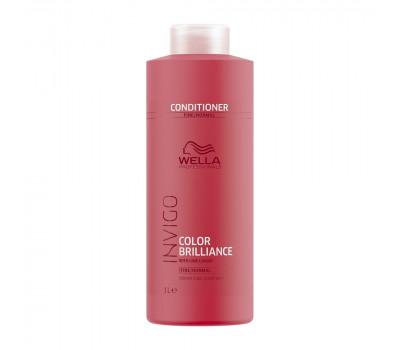 Wella Professionals Invigo Brilliance Бальзам-уход для защиты цвета окрашенных нормальных и тонких волос,