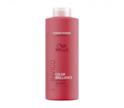 Wella Professionals Invigo Brilliance Бальзам-уход для защиты цвета окрашенных жестких волос,