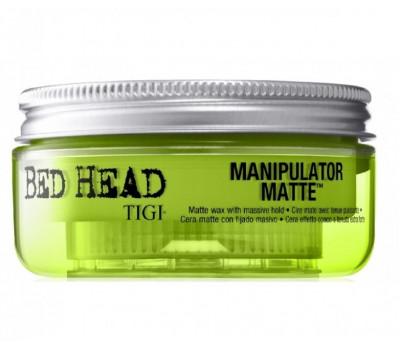 Bed Head (TIGI) Матовая мастика для волос сильной фиксации, Manipulator Matte