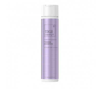 TIGI COPYRIGHT Тонирующий шампунь Copyright CUSTOM CARE Toning Shampoo