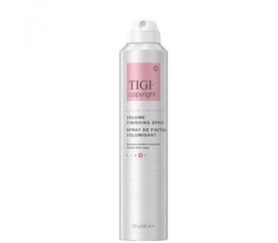 TIGI COPYRIGHT Лак финишный для сохранения  объема волос Copyright Volume Finishing Spray