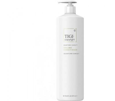 TIGI COPYRIGHT Кондиционер для объема Tigi Copyright Custom Care Volume Conditioner